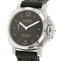 Panerai Luminor Marina 1950 3 Days Automatic Acero 42mm Negro Árabes