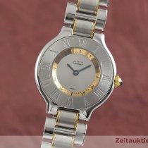Cartier 21 Must de Cartier Gold/Stahl 28mm Silber Deutschland, Chemnitz