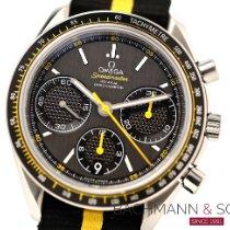 Omega Speedmaster Racing occasion 40mm Gris Chronographe Date Tachymètre Caoutchouc