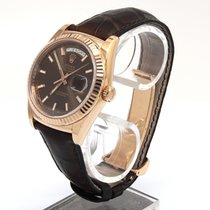 Rolex Day-Date 36 pre-owned 36mm Date Leather