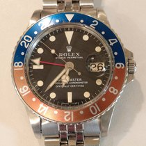 Rolex 1675 Steel GMT-Master pre-owned