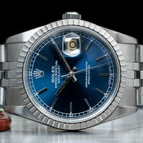 Rolex Datejust usados 36mm Azul Fecha Cierre desplegable