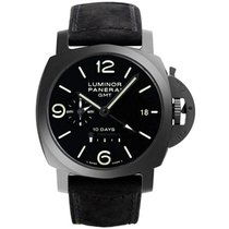 Panerai Luminor 1950 10 Days GMT Ceramic 44mm Black Arabic numerals United States of America, New York, New York