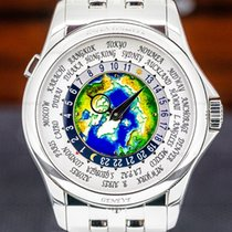 Patek Philippe World Time 5131/1P-001 Very good Platinum 39.5mm Automatic