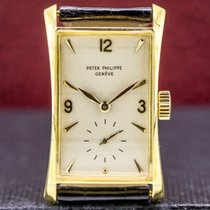 Patek Philippe Hour Glass Yellow gold 22mm Silver United States of America, Massachusetts, Boston