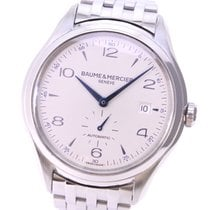 Baume & Mercier Clifton 65717/MOA10099 Very good Steel 41mm Automatic