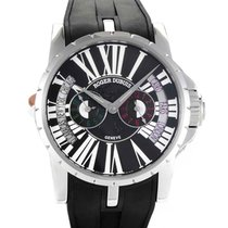 Roger Dubuis Excalibur Steel 45mm Black Roman numerals United States of America, New York, New York