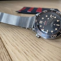 Omega Seamaster Diver 300 M Titane 42mm Noir France, PARIS