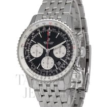 Breitling Navitimer 1 B01 Chronograph 43 Steel 43mm Black United States of America, New York, Hartsdale