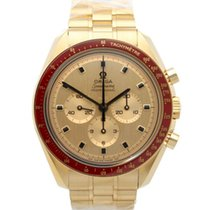 Omega Yellow gold Manual winding Champagne 42mm new Speedmaster Professional Moonwatch