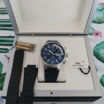 萬國 Aquatimer Chronograph IW378201 非常好 鋼 自動發條