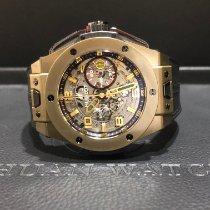 Hublot Big Bang Ferrari Yellow gold 45mm Transparent Arabic numerals