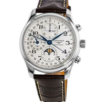 Longines Master Collection Steel 42mm Silver Roman numerals United States of America, New York, Brooklyn