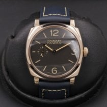 Panerai Radiomir 1940 pre-owned 42mm Brown Leather