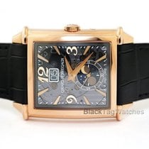 Girard Perregaux Or rose Remontage automatique Transparent Arabes 36.10mm nouveau Vintage 1945