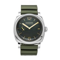Panerai Radiomir 1940 3 Days Steel 47mm Green Arabic numerals United States of America, Pennsylvania, Bala Cynwyd