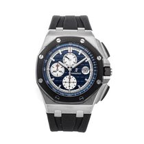Audemars Piguet Royal Oak Offshore Chronograph Platinum 44mm Blue No numerals United States of America, Pennsylvania, Bala Cynwyd