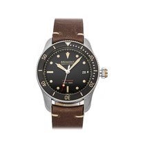 Bremont Steel 40mm Automatic S301-BK pre-owned