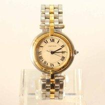 Cartier Cougar Gold/Stahl 30mm Römisch