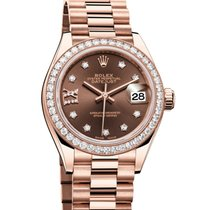 Rolex Lady-Datejust Rose gold 28mm Brown United States of America, Georgia, Alpharetta