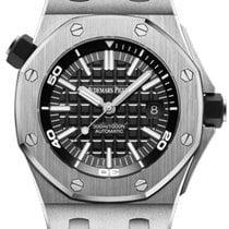 Audemars Piguet Royal Oak Offshore Diver новые 2020 Автоподзавод Часы с оригинальными документами и коробкой 15710ST.OO.A002CA.01