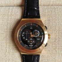 Swatch Stahl Quarz YOG 400 neu
