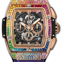 Hublot Spirit of Big Bang Rózsaarany 42mm Áttetsző