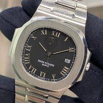 Patek Philippe Nautilus Steel 42mm Black Roman numerals United States of America, New York, Manhattan