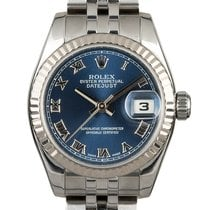 Rolex Lady-Datejust Acero 26mm Azul Romanos