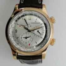 Jaeger-LeCoultre Master World Geographic Oro rosa 42mm Plata
