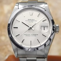 Rolex Oyster Perpetual Date Steel 34mm Silver No numerals United States of America, Connecticut, Darien