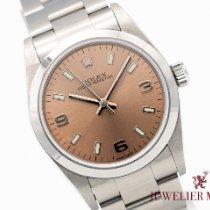 Rolex Oyster Perpetual 31 gebraucht 31mm Pink Stahl
