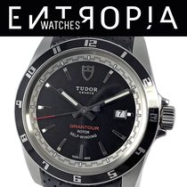 Tudor Grantour Date Сталь 42mm Чёрный Без цифр