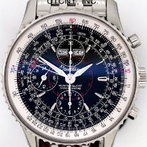 Breitling Montbrillant Datora Steel 43mm Black Arabic numerals United States of America, New York, New York
