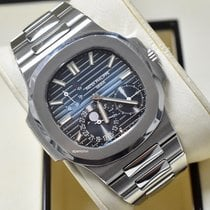 Patek Philippe Nautilus Steel 40mm Blue No numerals United States of America, Virginia, Arlington