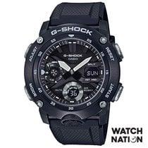 Casio G-Shock Vjestacki materijal 48.7mmmm Crn