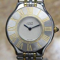 Cartier 21 Must de Cartier Steel 31mm White Roman numerals