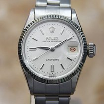 Rolex Oyster Perpetual Lady Date Steel 25mm Silver No numerals United States of America, Connecticut, Darien