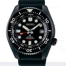 Seiko Marinemaster Acier 44.3mm Noir Sans chiffres