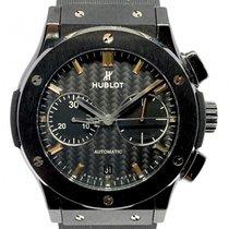 Hublot Classic Fusion Chronograph gebraucht 45mm Schwarz Kautschuk