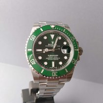 Rolex Submariner Date Steel 40mm Green No numerals Finland, Seinäjoki