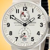 Ulysse Nardin Marine Chronometer Manufacture Steel 43mm Silver Arabic numerals United States of America, Illinois, Northfield