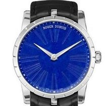 Roger Dubuis White gold Automatic Blue 42mm new Excalibur