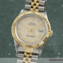 Rolex Datejust Turn-O-Graph Or/Acier 36.5mm Champagne