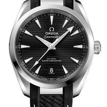 Omega Seamaster Aqua Terra Steel 38mm Black No numerals