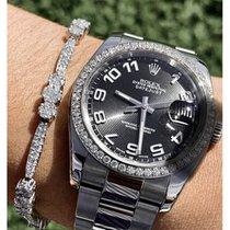 Rolex Datejust Steel 36mm Black United States of America, Florida, Boca Raton