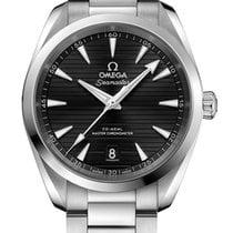 Omega Seamaster Aqua Terra Acier 38mm Noir Sans chiffres