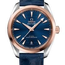 Omega Seamaster Aqua Terra Acero y oro 38mm Azul