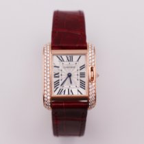 Cartier Tank Anglaise WT100013 Very good Rose gold 30mm Quartz