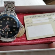 Omega Seamaster Diver 300 M Acciaio Blu Senza numeri Italia, Alagna PV